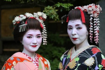 Geishas bei Kyoto, Japan